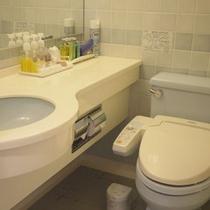 お部屋のトイレは全室ウォッシュレット完備★快適にお使いいただけます。
