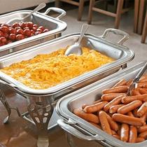 朝食ビュッフェスタイル