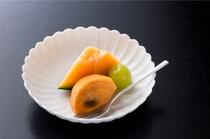 季節のフルーツ(デザート例)