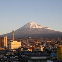 *富士山側の客室の場合の眺望