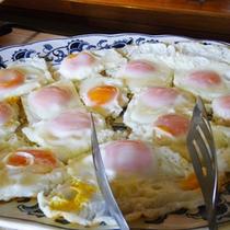 *【朝食例】目玉焼き