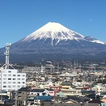 当館から見える富士山1