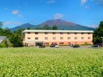 浅間山と2号館