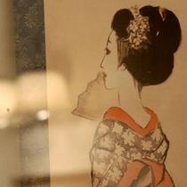 竹久夢二ゆかりの宿。明治〜昭和にかけて3度にわたり滞留しました。