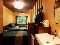 禁煙室 【2013年OPEN☆】渓流沿い◎和モダンベッドルーム