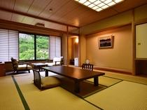 【川沿い別館数奇屋風和室】14.5畳+広縁+広々踏込