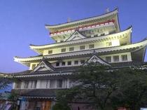 熱海城(夜景)