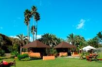 島内施設 「R-asia」です。アジアンリゾートでごゆるりと♪