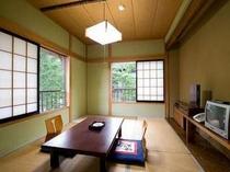 清潔でシンプルな和室6畳