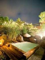 夜の露天風呂(ご婦人)