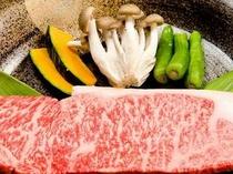 ⑮厳選された最上級5等級の「ブランド飛騨牛」を是非ご賞味ください。