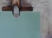 白濁の露天風呂②