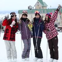 スキーへ行こう!!