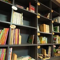 ふくろう文庫では、雑誌、漫画も置いています。