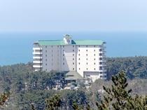 海とホテル