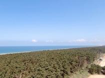 日本海の眺め飛島方向