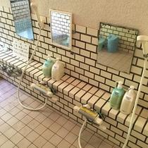 【温泉*洗い場*】