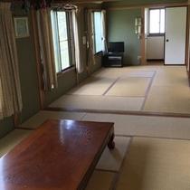 【客室*和室15畳】二間続きのお部屋だとこんなに広々♪