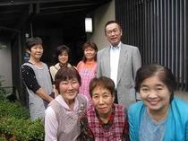 旅館川添支店スタッフ玄関