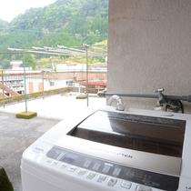 *施設一例/洗濯機・乾燥機(外干しも可)もご利用頂けます。