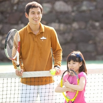 *キッズケア/テニススクールも♪G.Oが丁寧に教えてくれます。