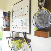 *テニスコート/ラケット・テニスボールはご自由にどうぞ!