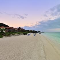 *ビーチ/早朝のビーチ散歩もおススメです。