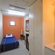 *シャワー室/ベッドルーム・洗面所・トイレ・シャワー室付き!チェックアウト後のご利用にとても便利