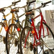 自転車レンタサイクルOK♪