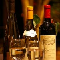 ワインの種類も豊富♪