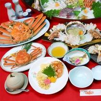 越前ガニ蟹フルコース