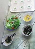 朝食バイキング・サンプル:サラダ・漬物コーナー_3