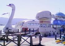 諏訪湖・遊覧船