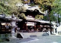 諏訪大社・下社秋宮:拝殿