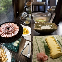 【メインダイニング 旬房「淡悦」】朝食:和洋ビュッフェ(料理イメージ)