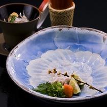 【淡路島3年とらふぐづくしコース(料理イメージ)】