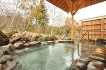 露天風呂<白樺の湯>