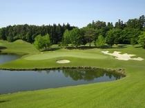 併設ゴルフ場「グランディ那須白河ゴルフクラブ」
