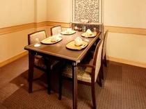 日本料理「花木鳥」個室