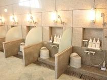 女性大浴場(洗い場)