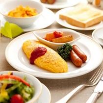 洋朝食(一例)