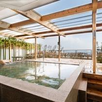 パイウォータ-を使用した大浴場