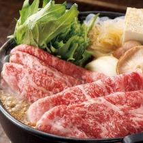 特選和牛のすき焼き(一例)