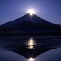④ダイヤモンド富士