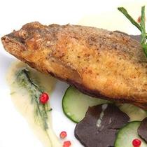 【夏のフレンチ】魚料理