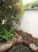 金木犀の露天風呂
