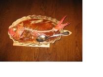 金目鯛の中華蒸し