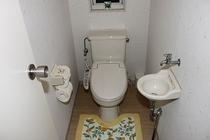 メゾネットのトイレ