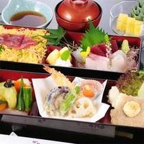 お得な2食付7200円プラン夕食例