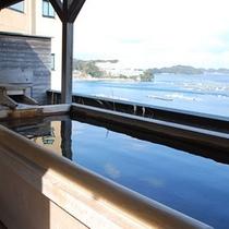 とても眺めが良いと人気の『貸切露天風呂』